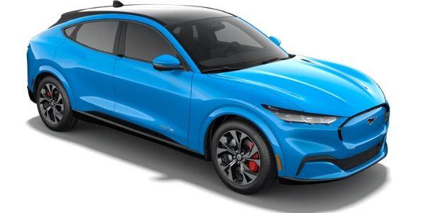 2021 Ford Mustang Mach-E Grabber Blue Metallic