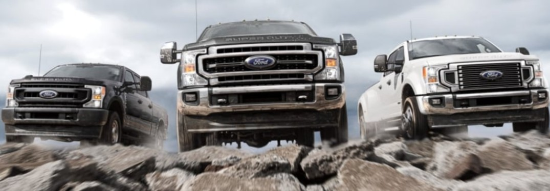2021 Ford Super Duty Truck lineup