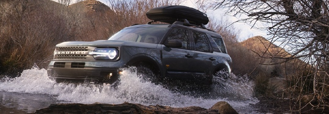 2021 Ford Bronco Sport treading water