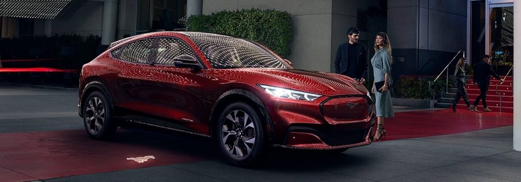 2021 Ford Mustang Mach-E side view