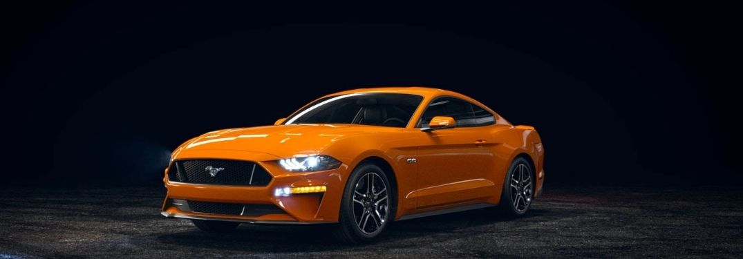 2021 Ford Mustang grille and side view