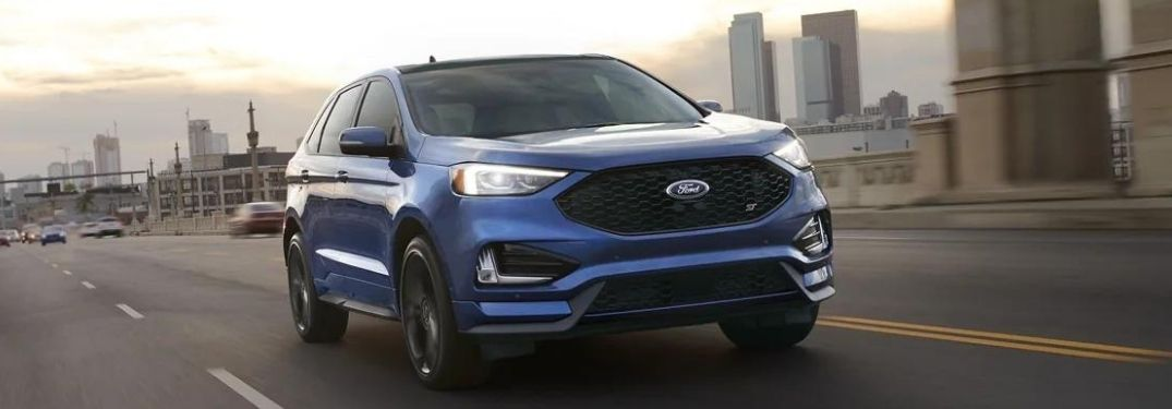 2021 Ford Edge front exterior