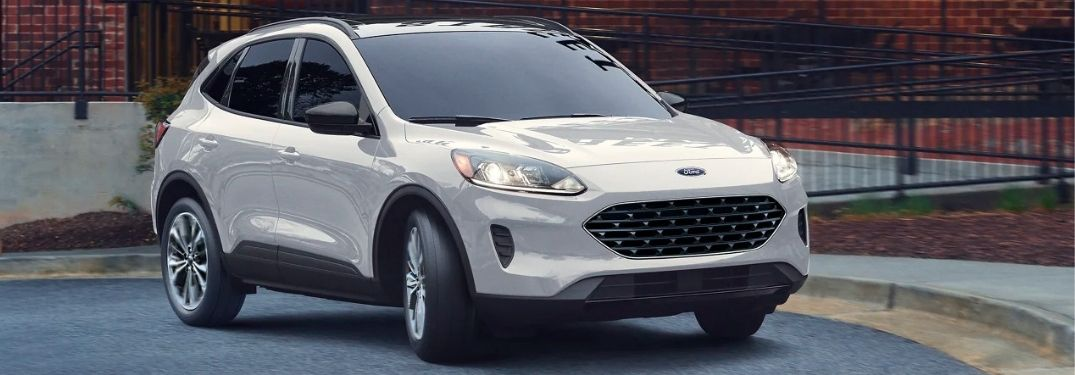 2021 Ford Escape side and front look