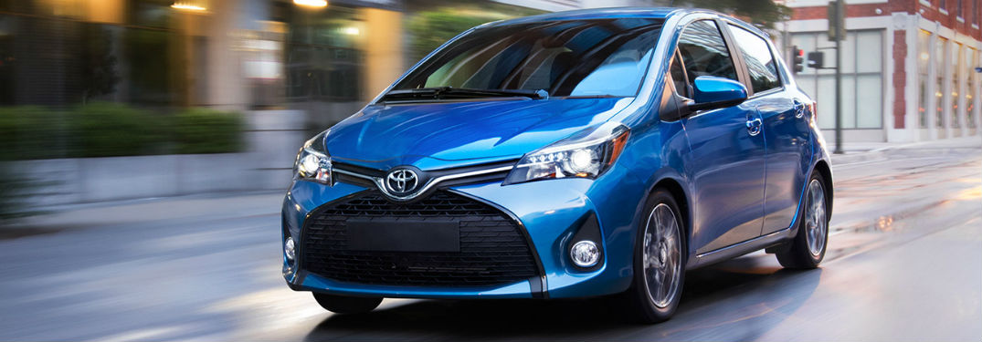 2017 toyota yaris fuel economy and performance. Black Bedroom Furniture Sets. Home Design Ideas