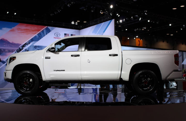 toyota debuts tacoma 4runner tundra trd pro trims at. Black Bedroom Furniture Sets. Home Design Ideas