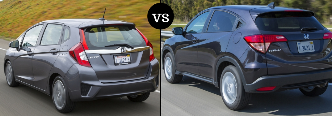 2017 Honda Fit Vs HR V