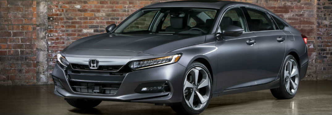 silver 2018 Honda Accord parked