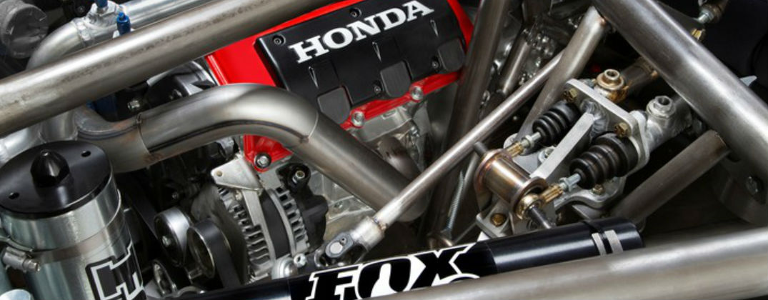 New Honda Performance Development Off-Road Race Vehicle at Allan Nott-Lima OH-New Honda Off-Road Racing