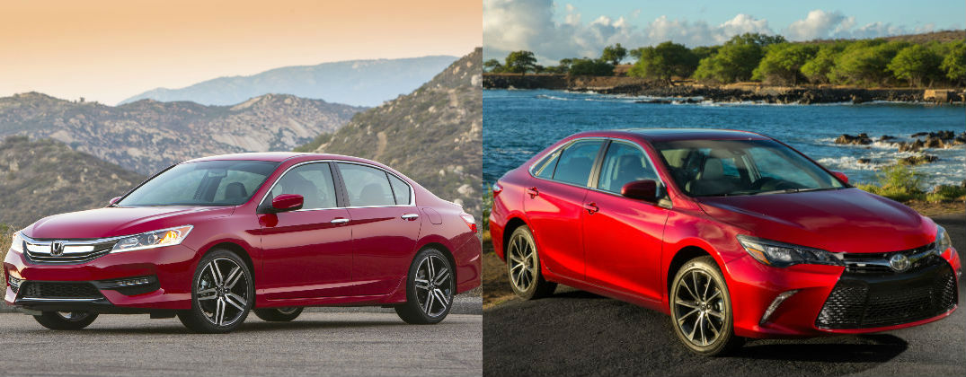 Choose From Top Midsize Sedans in Lima, OH with a Honda Accord vs Toyota Camry Comparison