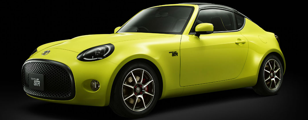 New 2015 Toyota Concept Designs at Allan Nott-Lima OH-Yellow Toyota S-FR Concept