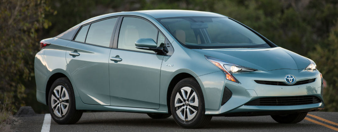 Official 2016 Toyota Prius Power and Fuel Economy Specs at Allan Nott-Lima OH-2016 Toyota Prius Three Exterior