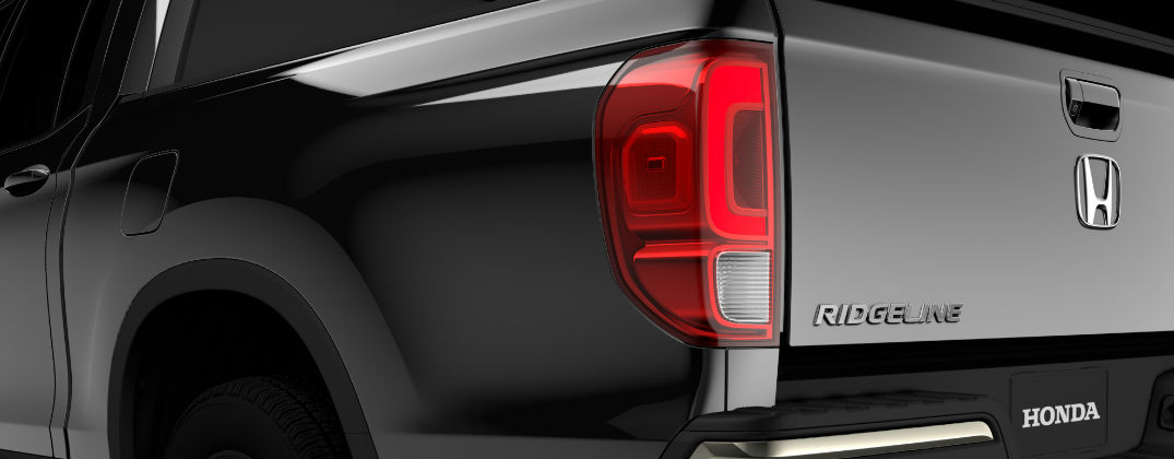 When Will the 2017 Honda Ridgeline Debut at Allan Nott-Lima OH-Black 2017 Honda Ridgeline Rear Exterior Teaser Image