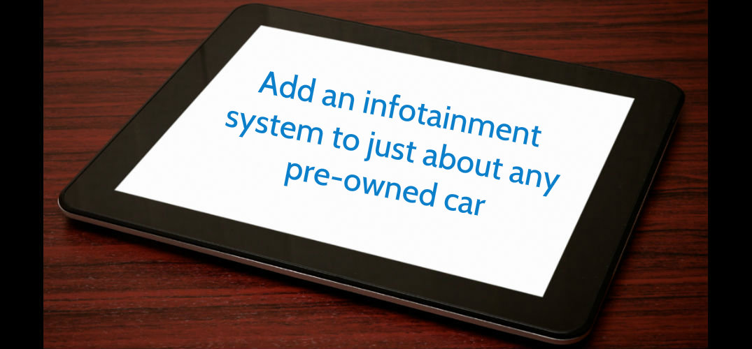Are there aftermarket options for an infotainment system