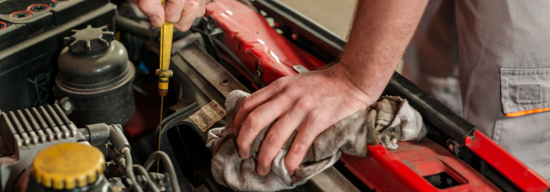 Changing the oil in your used car