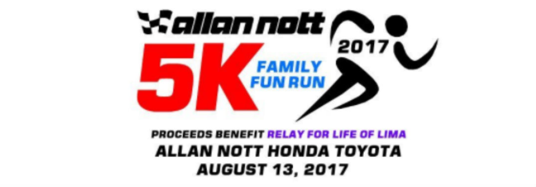 Join us this August for the first-ever Allan Nott 5K Family Fun Run!