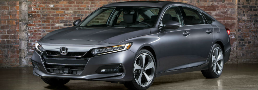 2018 Honda Accord parked