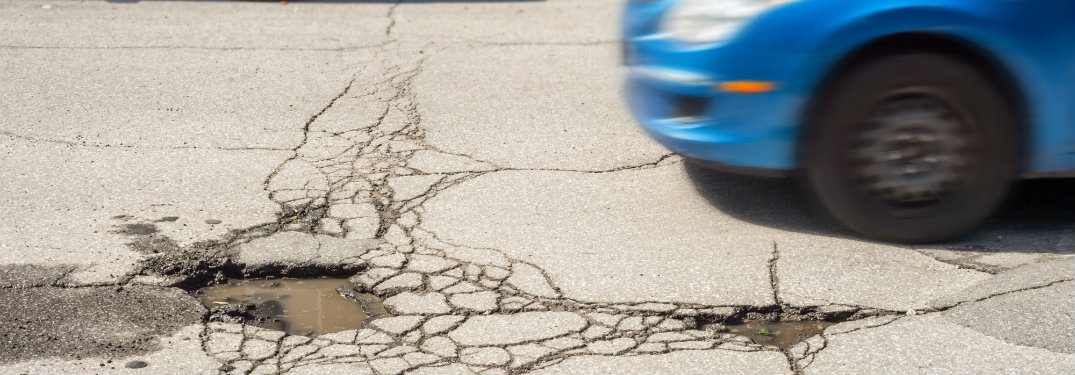 Where to check your car after you hit a pothole