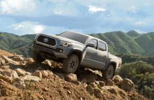 2019 Toyota Tacoma TRD Off-Road in Cement