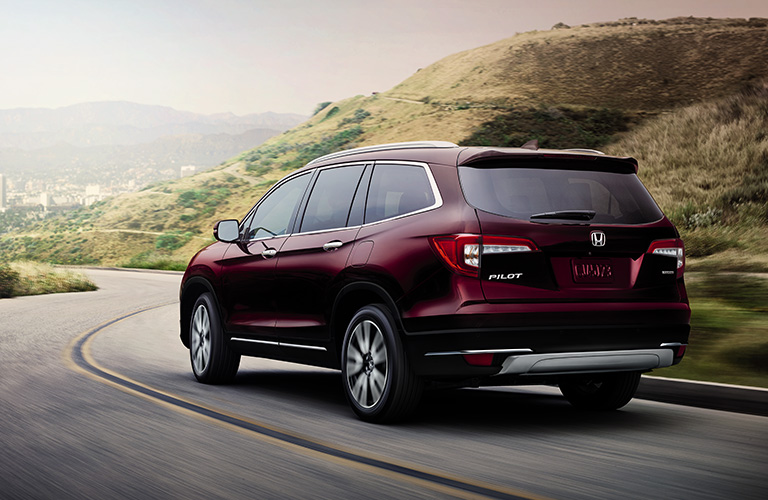 2019 Honda Pilot on a highway