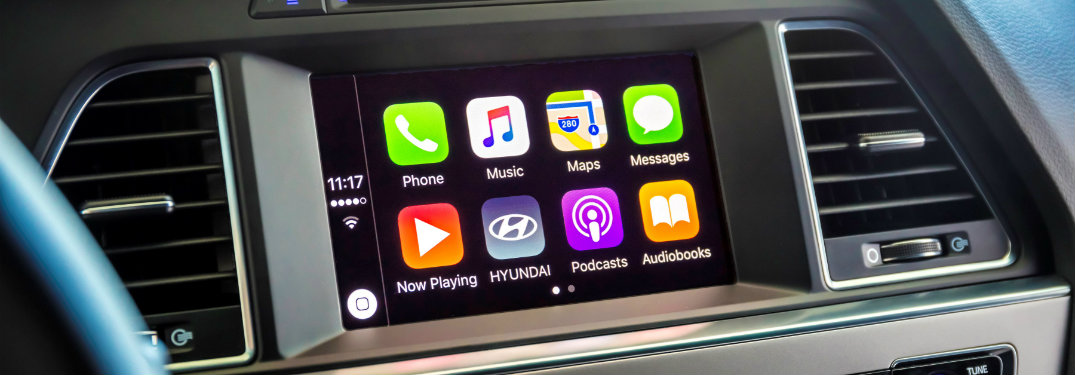 2016 Hyundai Sonata Apple CarPlay and Android Auto