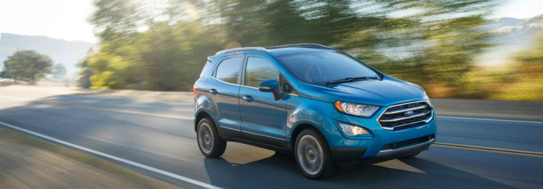 2018 Ford EcoSport Release Date