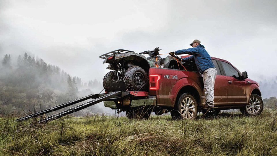 2017 ford f150 payload o