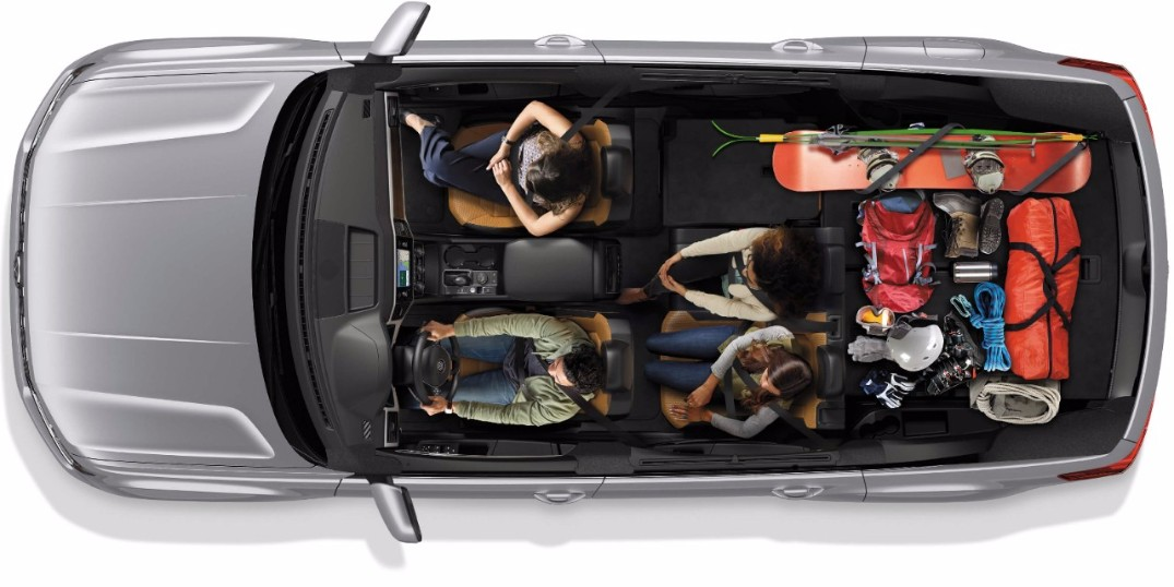 How cargo much space is there inside the Volkswagen Atlas?