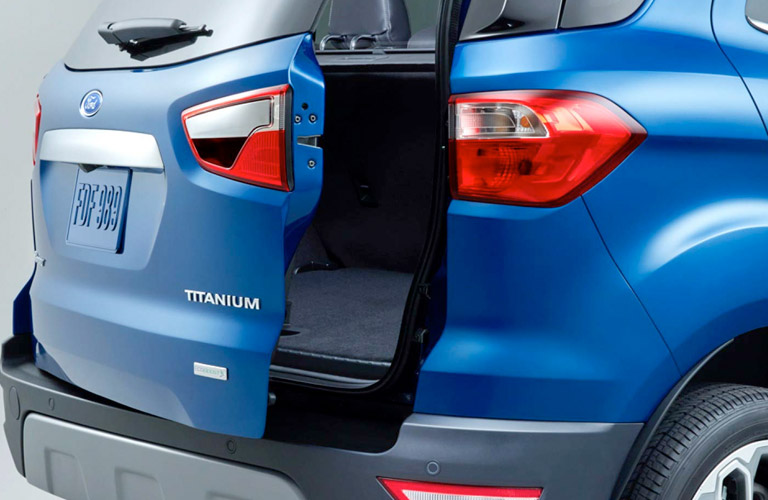 Image Result For Ford Ecosport How To Open Boot