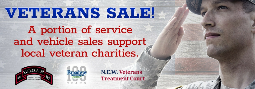 Broadway Automotive November Veterans Sale and Event