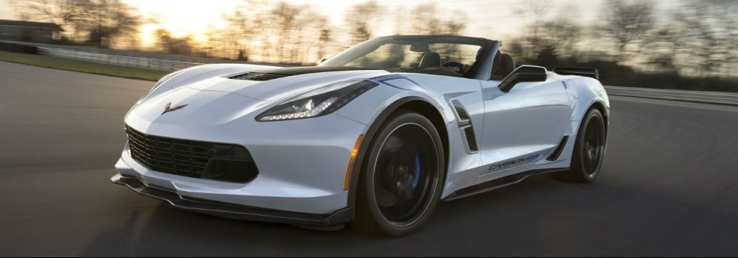 full view of the 2018 Chevy Covette
