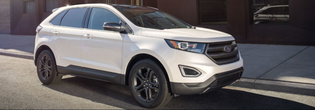 Full View Of The  Ford Edge