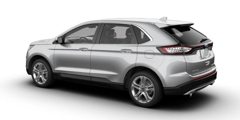 Ford Edge In Ingot Silver
