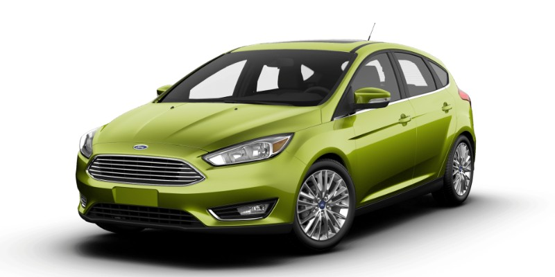What Colors Does The New 2018 Ford Focus Hatchback Come In