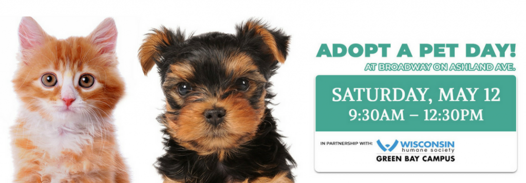 Adopt A Pet At Broadway Automotive On May 12th