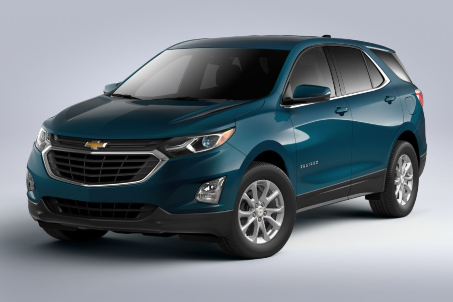 2020 Chevy Equinox Colour Options