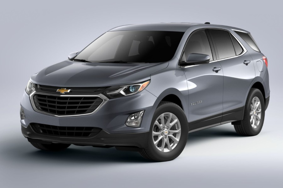 What are the Color Options Available for the 2020 Chevy Equinox?