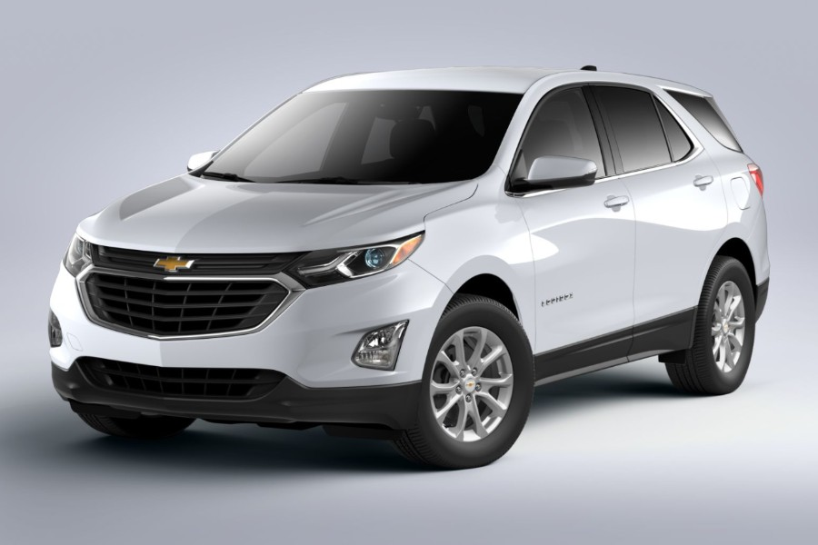 2020 Chevrolet Equinox in Summit White color