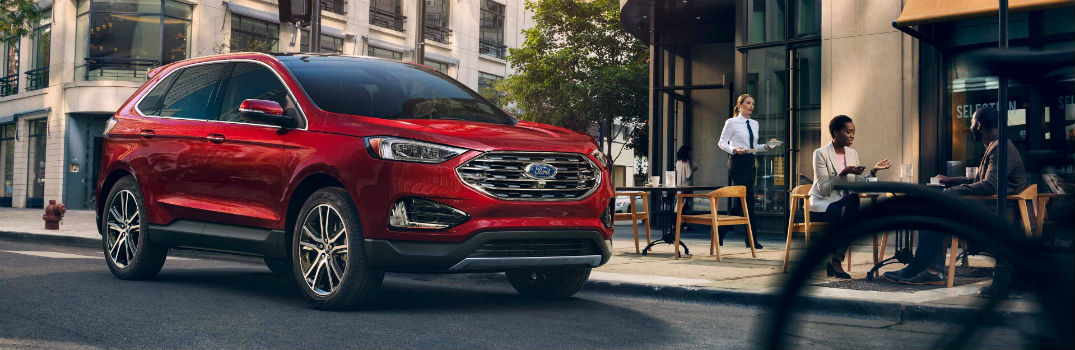 2019 Ford Edge Exterior Passenger Side Front Profile