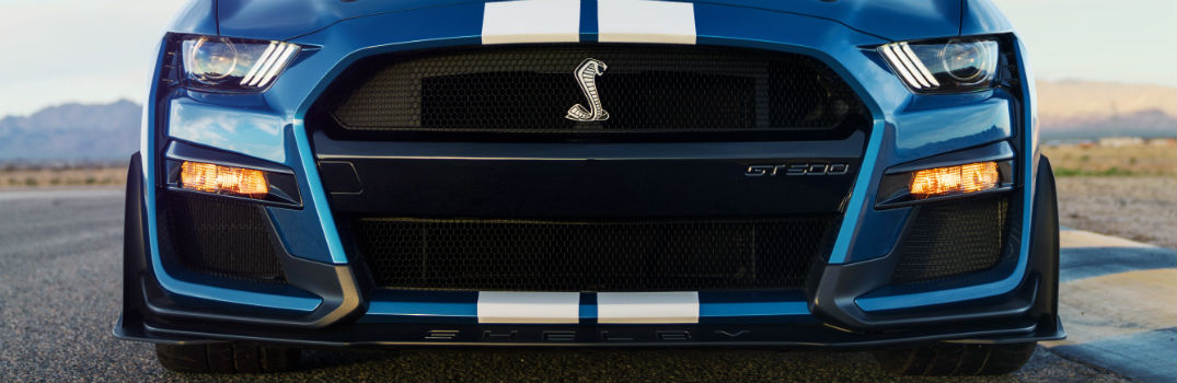 2020 Ford Mustang Shelby GT500 Exterior Front Fascia