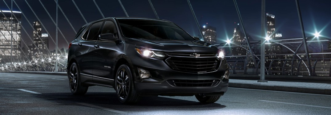 Midnight Edition and Redline Edition for the 2020 Chevrolet Equinox