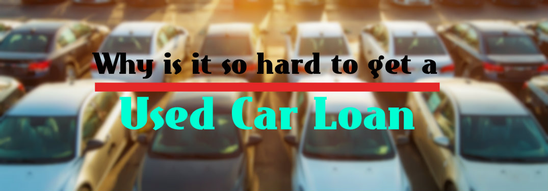 how to get a used car loan with no credit
