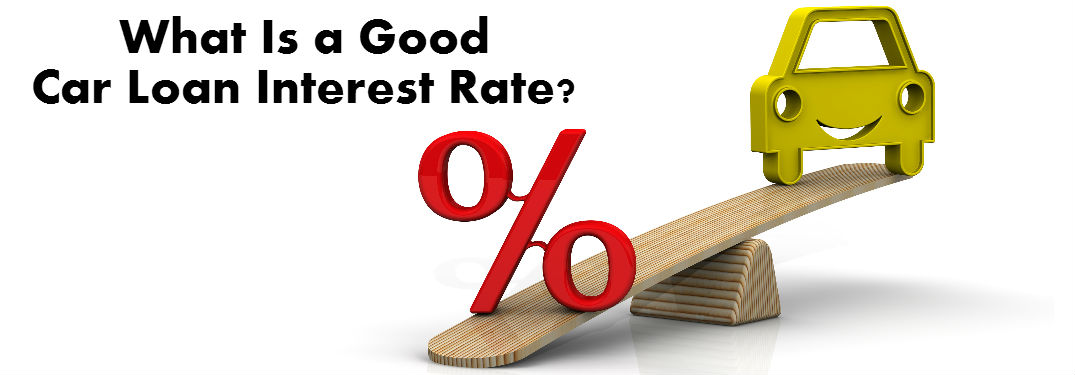 Current car loan interest rates for good credit