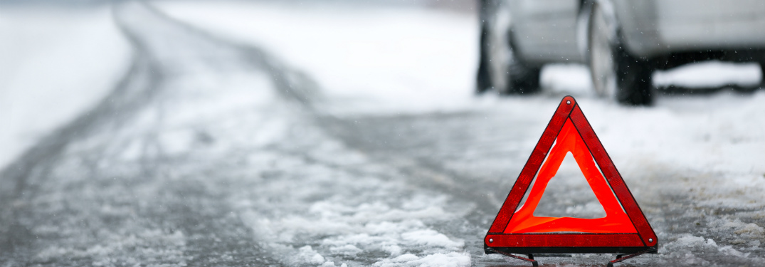 icy roads stock image