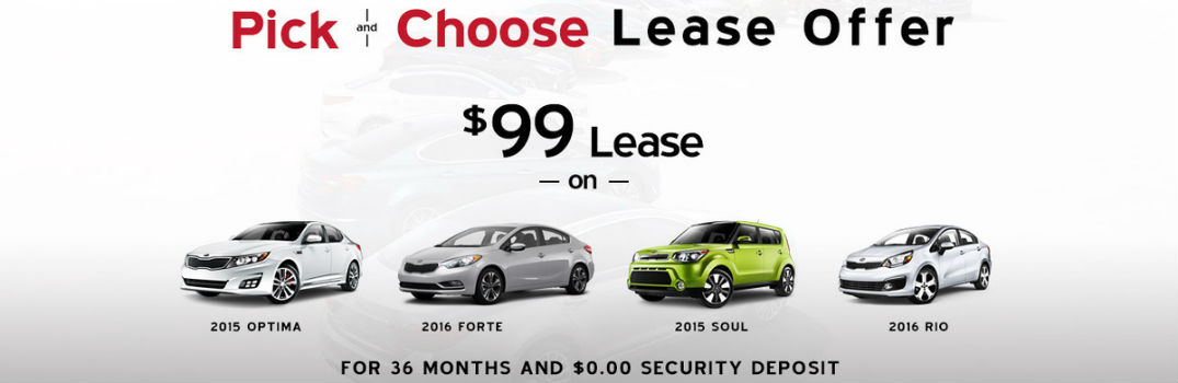 Pick and Choose lease special Friendly Kia New Port Richey Clearwater Spring Hill Tampa Trinity FL