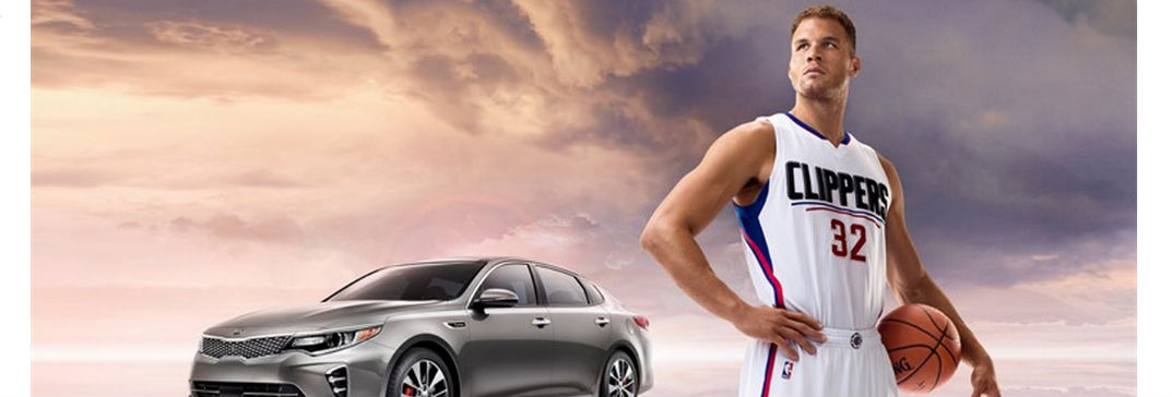 NBA Star Blake Griffin 2016 Kia Optima TV commercials New Port Richey Trinity Clearwater Spring Hill Tampa FL
