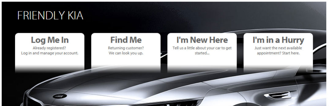 Friendly Kia Online Service Tool New Port Richey Tampa Spring Hill FL