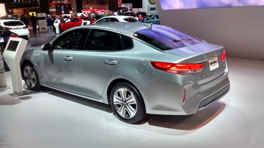 2017 Kia Optima Plug-In Hybrid Chicago Auto Show Global Debut emission-free long battery life Friendly Kia New Port Richey Clearwater St. Petersburg Tampa Spring Hill Trinity FL
