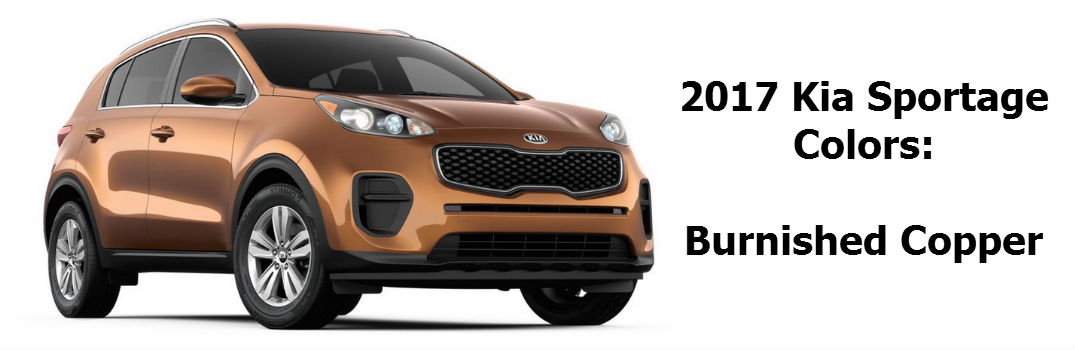 2017 Kia Sportage Release And Available Colors