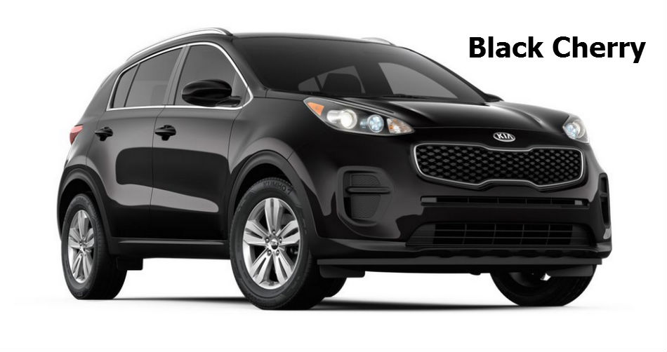 Kia Sportage Colors