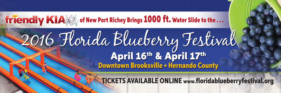 Brooksville Blueberry Festival 2020.2016 Florida Blueberry Festival Schedule Of Events